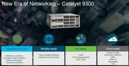 switches Catalyst 9300 de Cisco