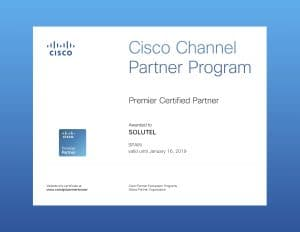 Cisco Certificate Partner Premier