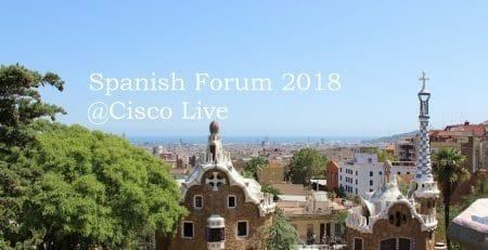 spanish forum 2018