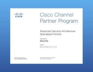 CiscoCertificateAdvanced Security Architecture Specialization