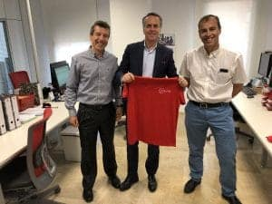Jose Manuel Petisco visita solutel en 2018